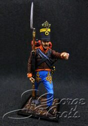 Austria-Hungary. Line Infantry. Grenz Infantry Regiments  1809-14. Non-commissioned Officer. KIT