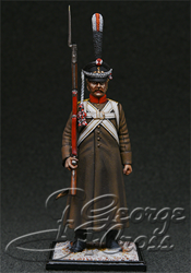 Russia of Alexander I.  +The Regular Infantry 1812-14. +Non-commissioned Officer. KIT