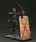 European Infantry, late 15 c. Archer with Mantlet. KIT