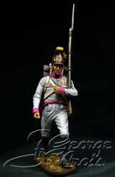 Austria-Hungary. Line Infantry. German Regiments, Fusilier Company 1805-14. Private. KIT