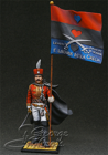 HQ PAINTED MINIATURE  Lambros Katsonis, Greek Colonel and Knight of Russian St. George Order, 1790