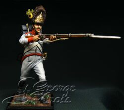 Austria-Hungary. Line Infantry. German Regiments, Grenadier Company 1805-14. Private. KIT