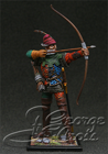 European Infantry, late 15 c. Archer. KIT