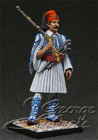 Greece, Army of King Otton.  5th Battalion of Mountain Guard, Private, 1838. KIT