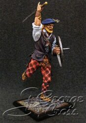 Scottish Clans and Jacobite Rebels 17-18 cc. Warrior of Clan. KIT