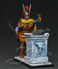 Army of Alexander and the Diadochi 3-4 c. BC.  Young Alexander Sacrifice. KIT