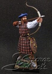 Scottish Clans and Jacobite Rebels 17-18 cc.  Archer. KIT