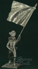 Austria-Hungary. Line Infantry. German Regiments, Grenadier Company 1805-14. Regimental Banner. KIT