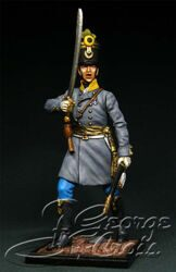 Austria-Hungary. Line Infantry. Hungarian Regiments, Fusilier Company 1805-14. Officer. KIT